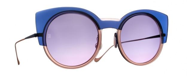 Gafas Caroline Abram Modelo Delicate en color azul y rosa