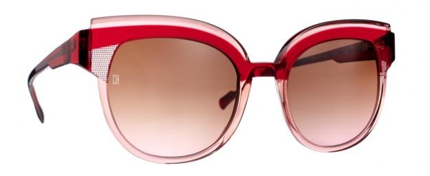Gafas de sol Caroline Abram Modelo Beverly Color Rojo