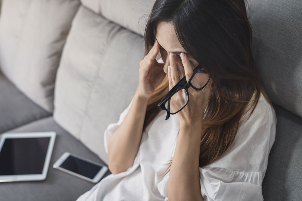 La tensión ocular por estrés | Marta Montoya Óptica