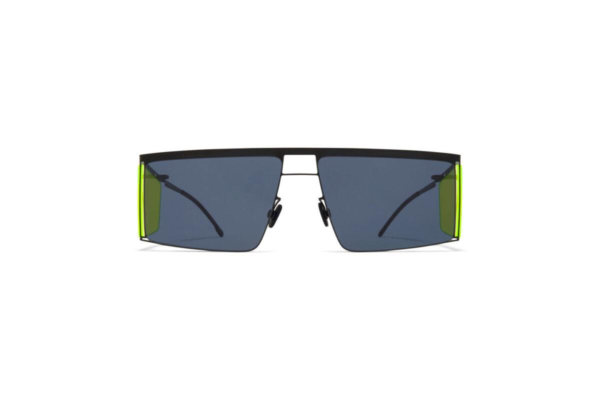 Gafas de sol exclusivas Mykita   Modelo Helmut Lang Amarillas