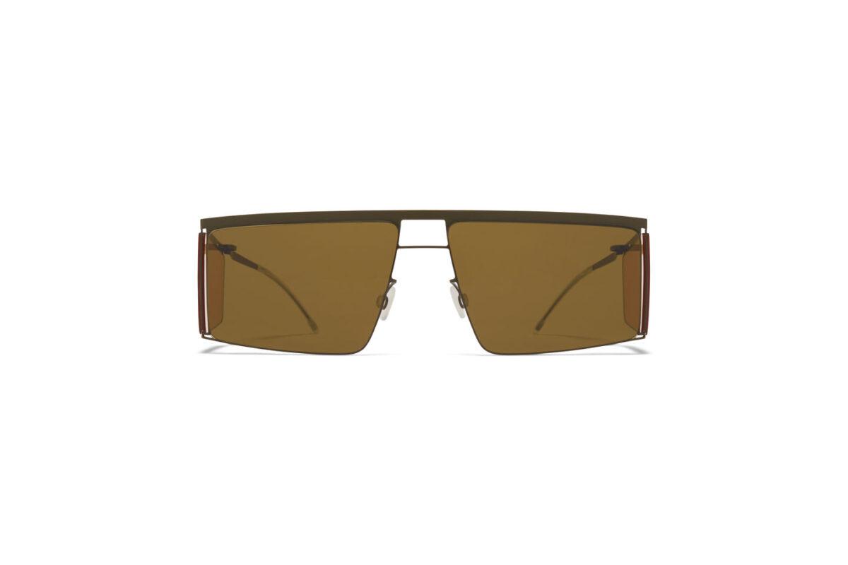 Montura Mykita para gafas de sol Helmut Lang Marrones