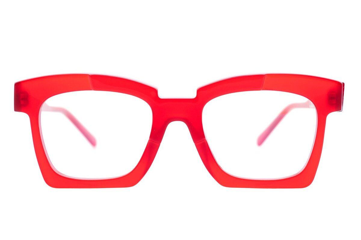 Gafas Kuboraum K5 color rojo | Marta Montoya