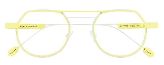 Gafas de vista amarillas | Anne et Valentin Reform