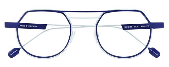 Anne et Valentin Modelo Reform Azul | Gafas de vista