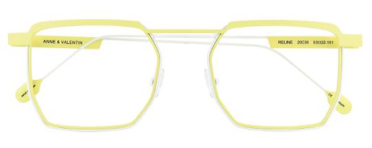 Gafas de vista Anne et Valentin Modelo Reline Amarillo